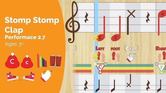 Stomp Stomp Clap - C1 & c8 - Performa...