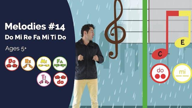 Do Mi Re Fa Mi Ti Do (PsP Melodies #14)