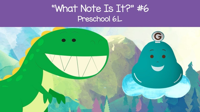 What Note Is It - F G A (Preschool 6.L)