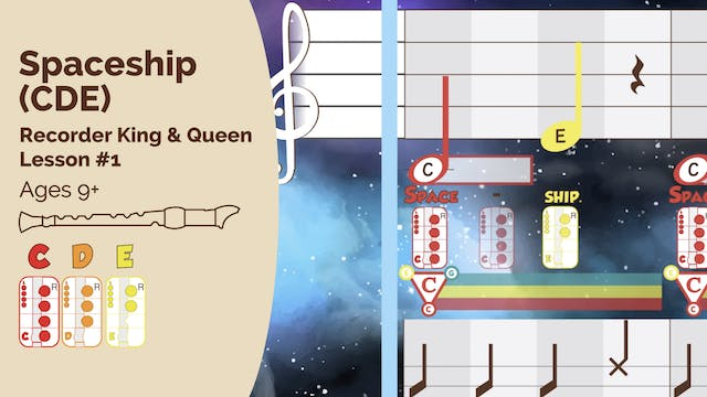 Spaceship CDE - Recorder - King_Queen