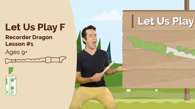 Recorder Dragon - 1 - Learn F