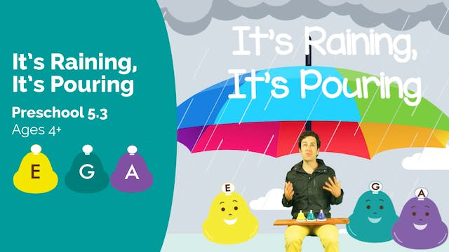 It's Raining, It's Pouring (Preschool...
