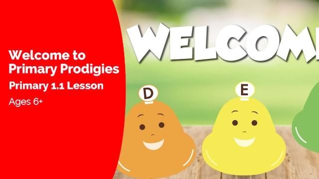 Primary Prodigies Introduction (Primary 1.I)