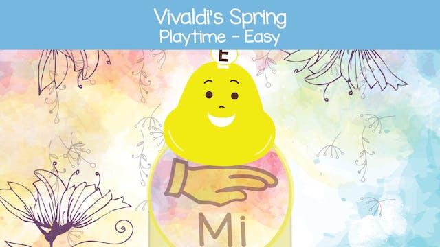 Vivaldi's Spring (Playtime -- Easy)