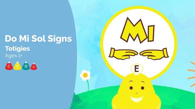 Do Mi Sol Signs - Totigies