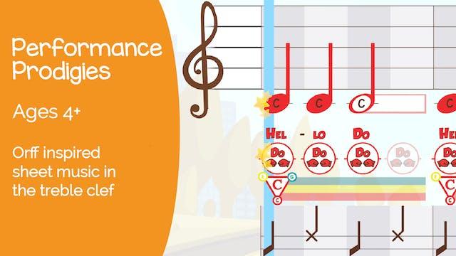 Performance Prodigies (Ages 4+)