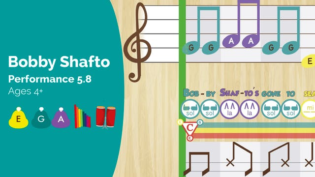 Bobby Shafto -- Mi Sol La -- (Perform...