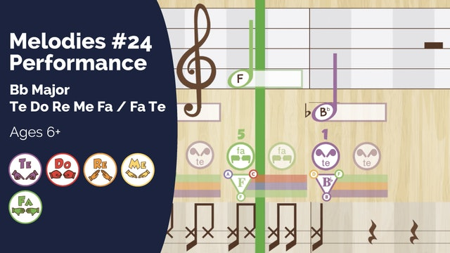 Bb Major Performance Track (PsP Melodies #24)