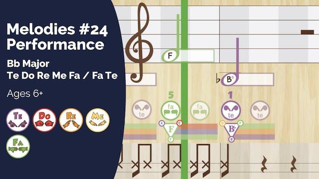 Bb Major Performance Track (PsP Melod...