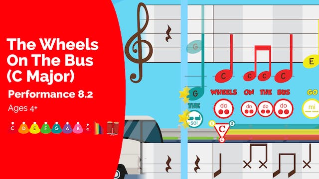 The Wheels on the Bus - C Major Songs...