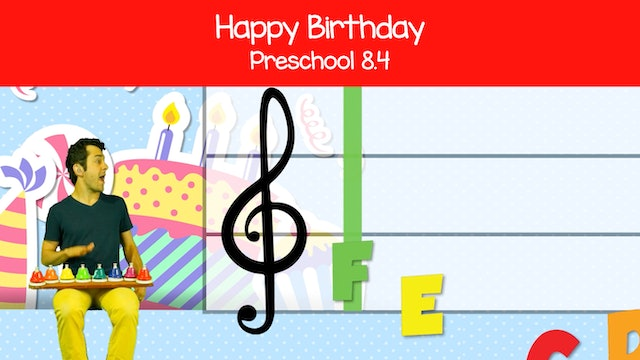Happy Birthday (Preschool 8.4)