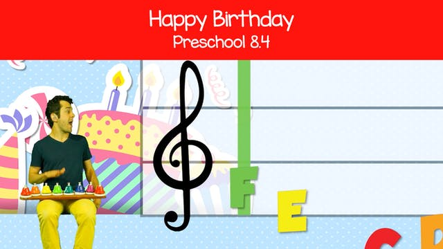 Happy Birthday (Preschool 8.4)