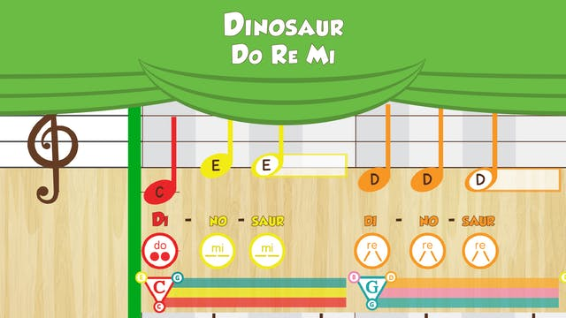 Dinosaur -- Do Re Mi -- (Performance ...