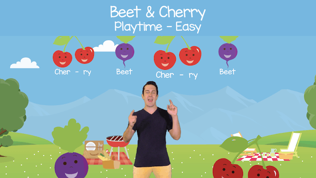 Beet & Cherry (Playtime -- Easy)