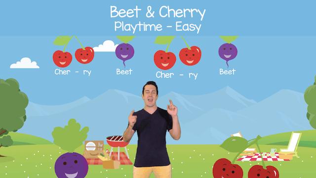 Beet & Cherry (Playtime -- Easy)