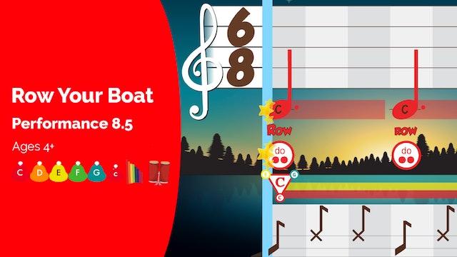 Row Your Boat - C Major Songs - Performance Prodigies