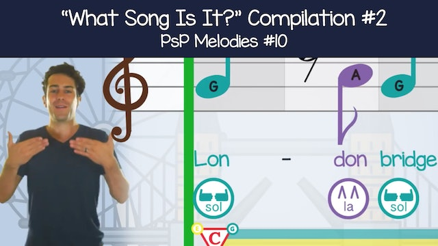 """What Song Is It?"" Compilation #2 (PsP Melodies #10)"