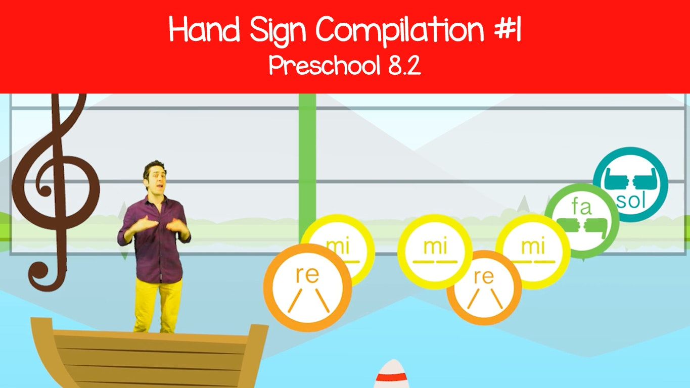 graphic relating to Solfege Hand Signs Printable identified as What Tune Is It?\