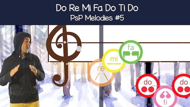 Do Re Mi Fa Do Ti Do (PsP Melodies #5)