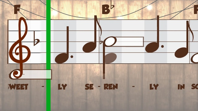 The Bridal Chorus (Performance B&W -- Primary 2.4.3)