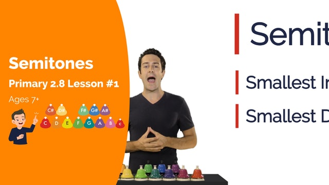 2.9 - Lesson 1 - Intro to Semitones 2