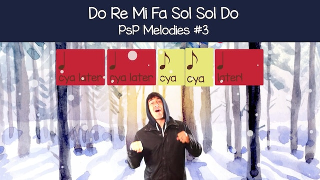 Do Re Mi Fa So So Do (PsP Melodies #3)