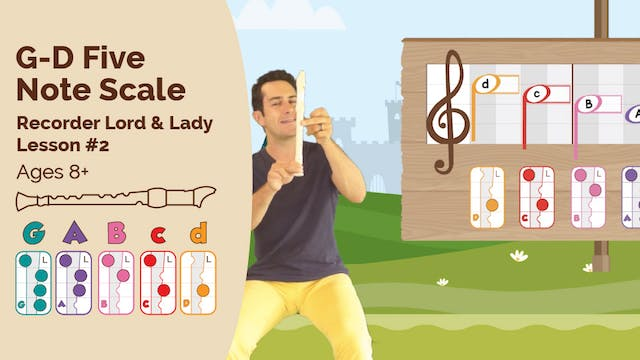 G to D 5 Note Scale (Lord & Lady -- R...