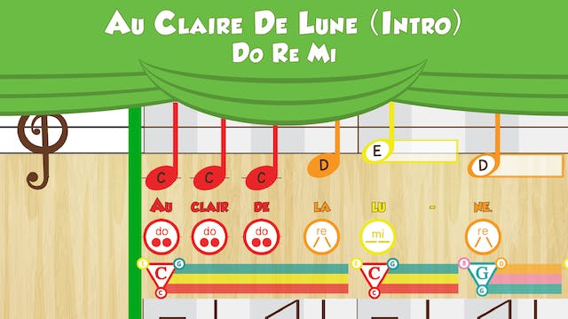 Au Claire De Lune -- Do Re Mi -- (Per...