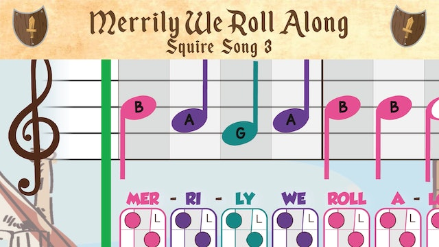 Merrily We Roll Along (Squire -- Recorder Prodigies -- Song 3)