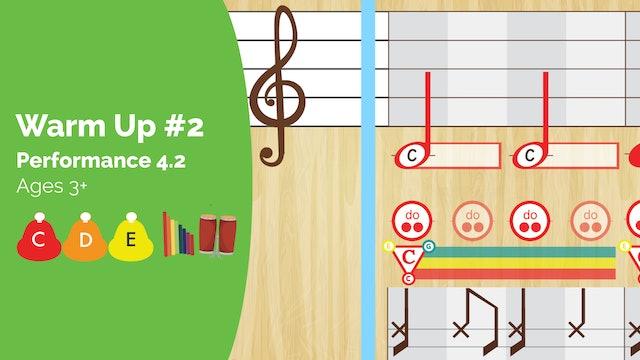 Warm Up #2 -- Do Re Mi -- (Performance Prodigies)