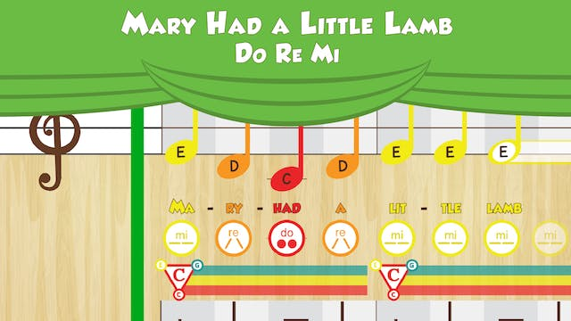 Mary Had a Little Lamb -- Do Re Mi --...