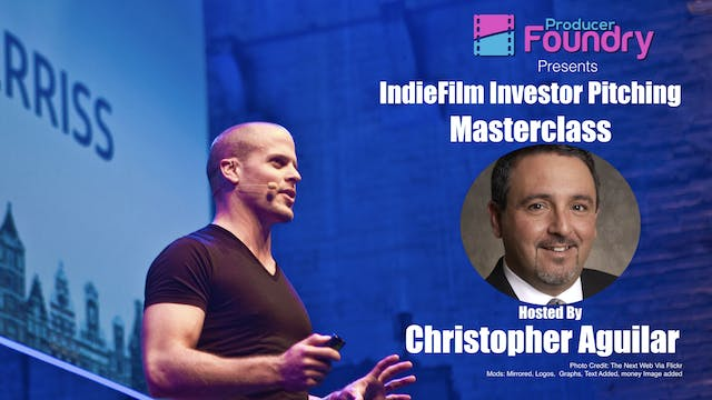 MasterClass: Indiefilm Investor Pitching