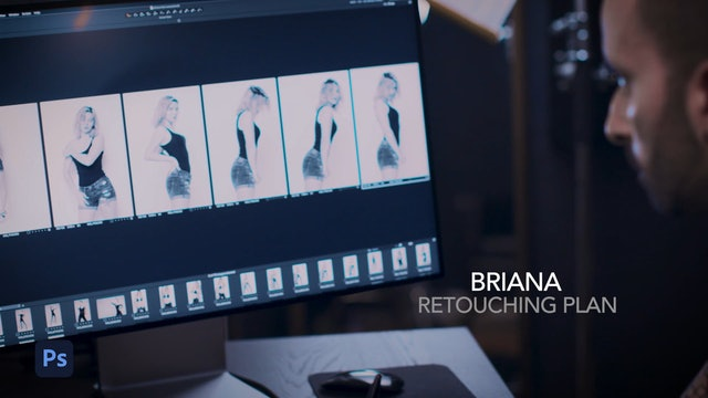 Briana - Retouching Plan