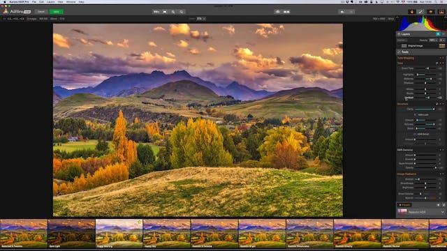 Landscape Masterclass - Intro Aurora HDR