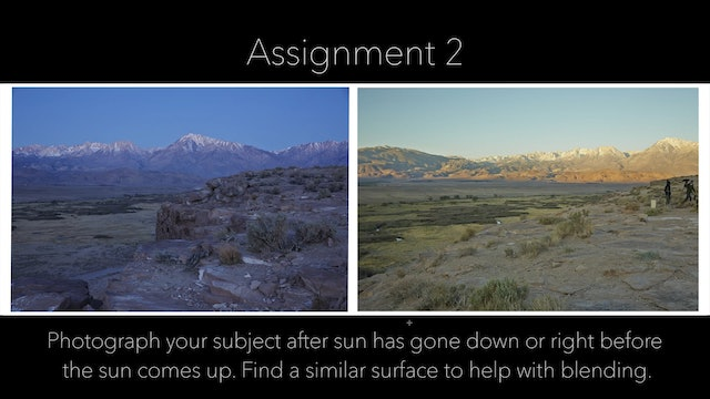 The Retouching Assignment
