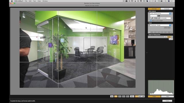 Green Room-Setup