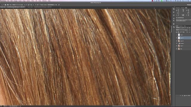 Cross Hair Removal-Beauty