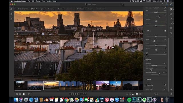 Lightroom CC  8 The Roof of Paris