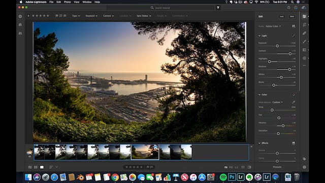 Lightroom CC  11  HDR PANORAMA