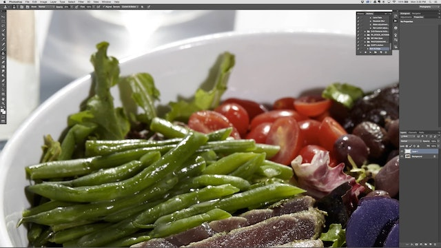 Small Batch Tuna Bowl Retouching