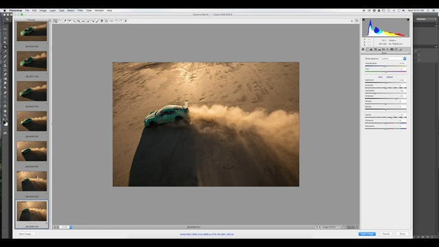 Action Shot One-RAW Processing