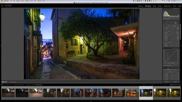 City Scapes 12 Saint Tropez Sunset Lesson 1