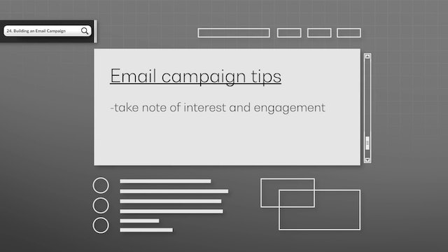 Building an Email Campaign