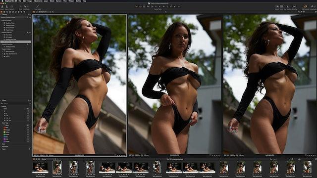 Lindsay - RAW Preparation - Correction
