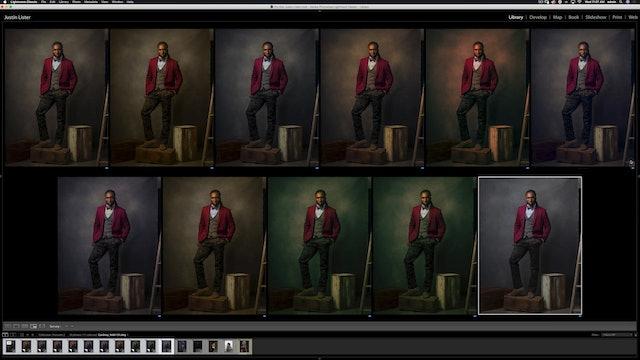 Portraiture - Cordney in Studio - Color Grading