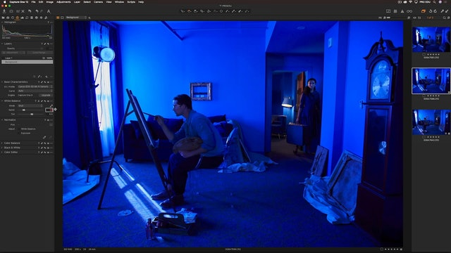 Capture One-RAW Processing