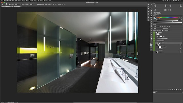 Architectural Retouching: Advanced Reflection Removal