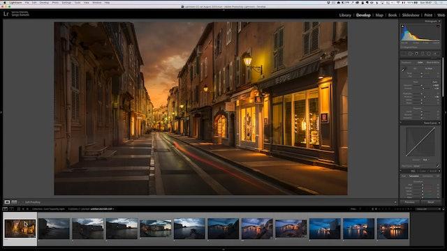 City Scapes 14 Saint Tropez Sunset Lesson 3