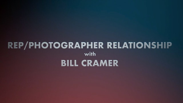 Rep-Photographer Relationship with Bill Cramer