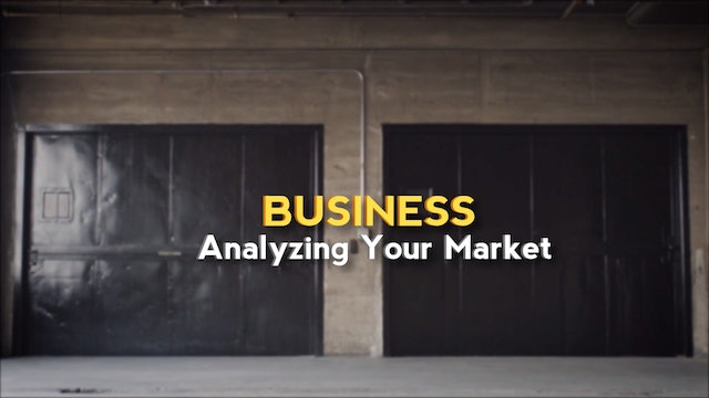 Analyzing Your Market